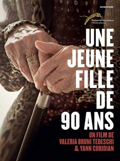 cartel Una joven de 90 años