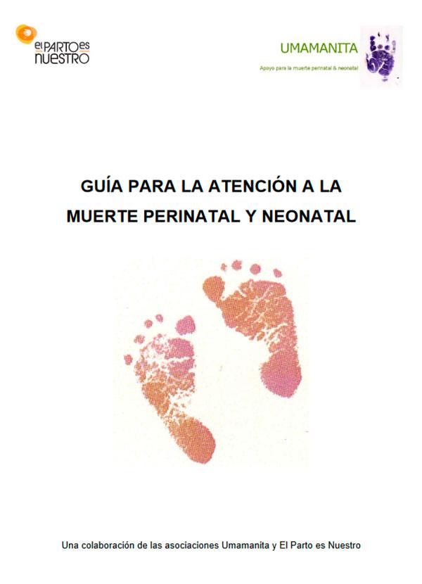 portada Guía de Atención a la Muerte Perinatal y Neonatal