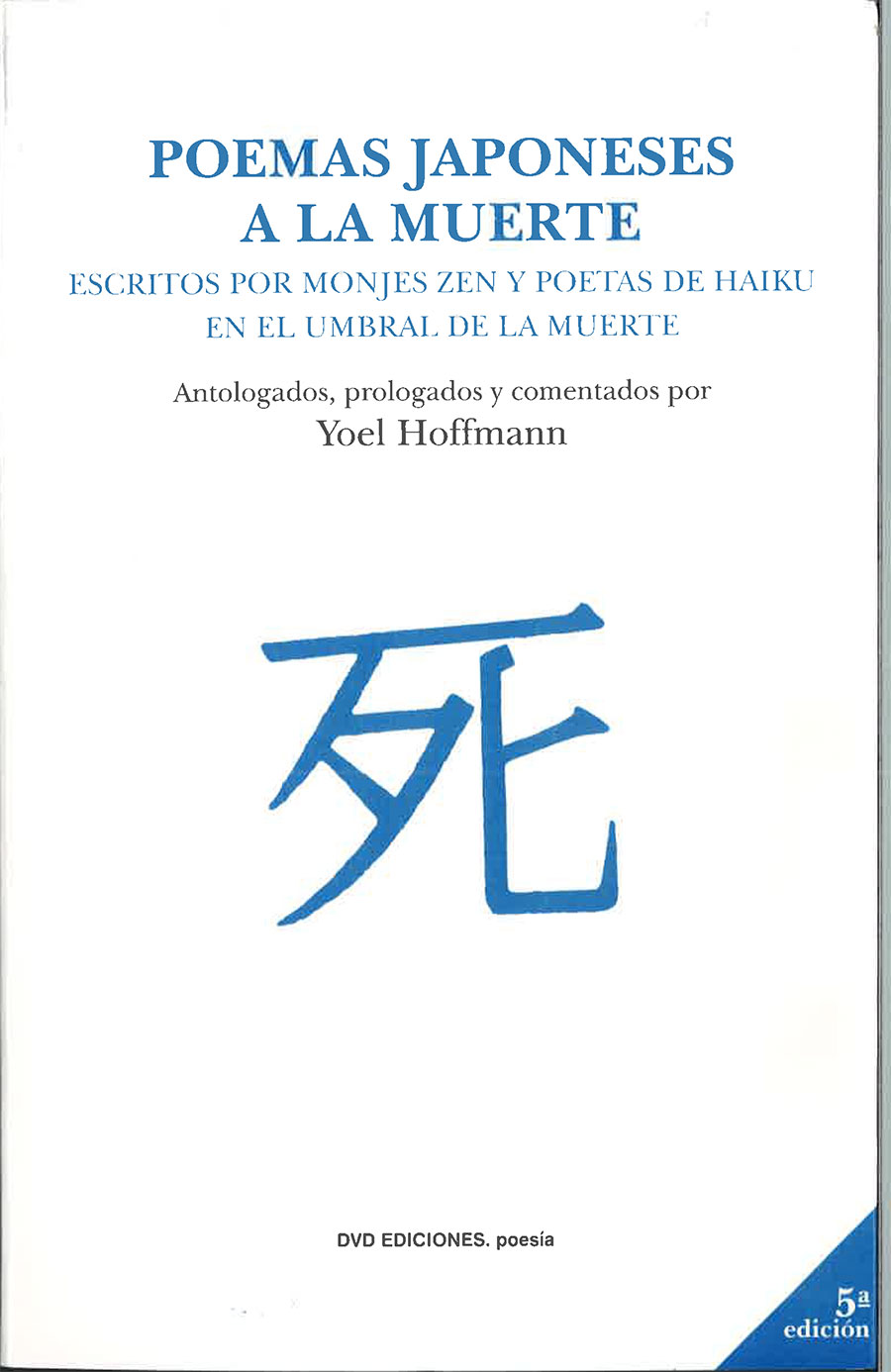 portada Poemas japoneses a la muerte