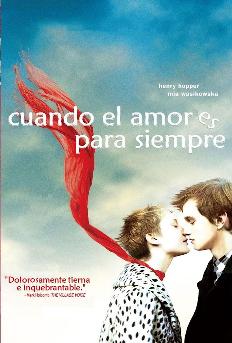 cartel Cuando el amor es para siempre