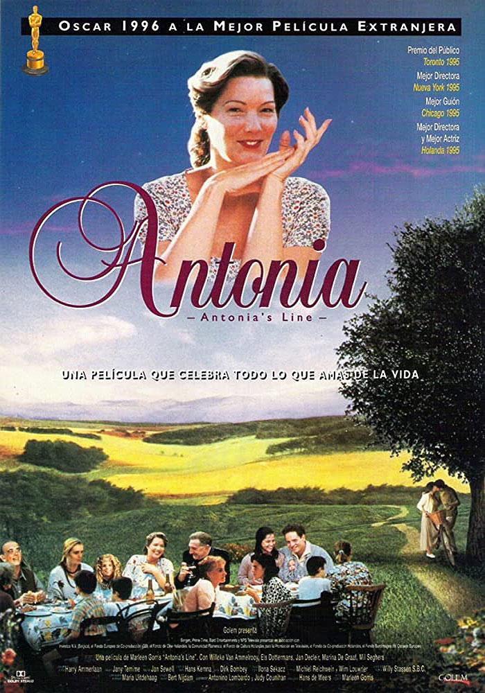 Cartel Antonia película