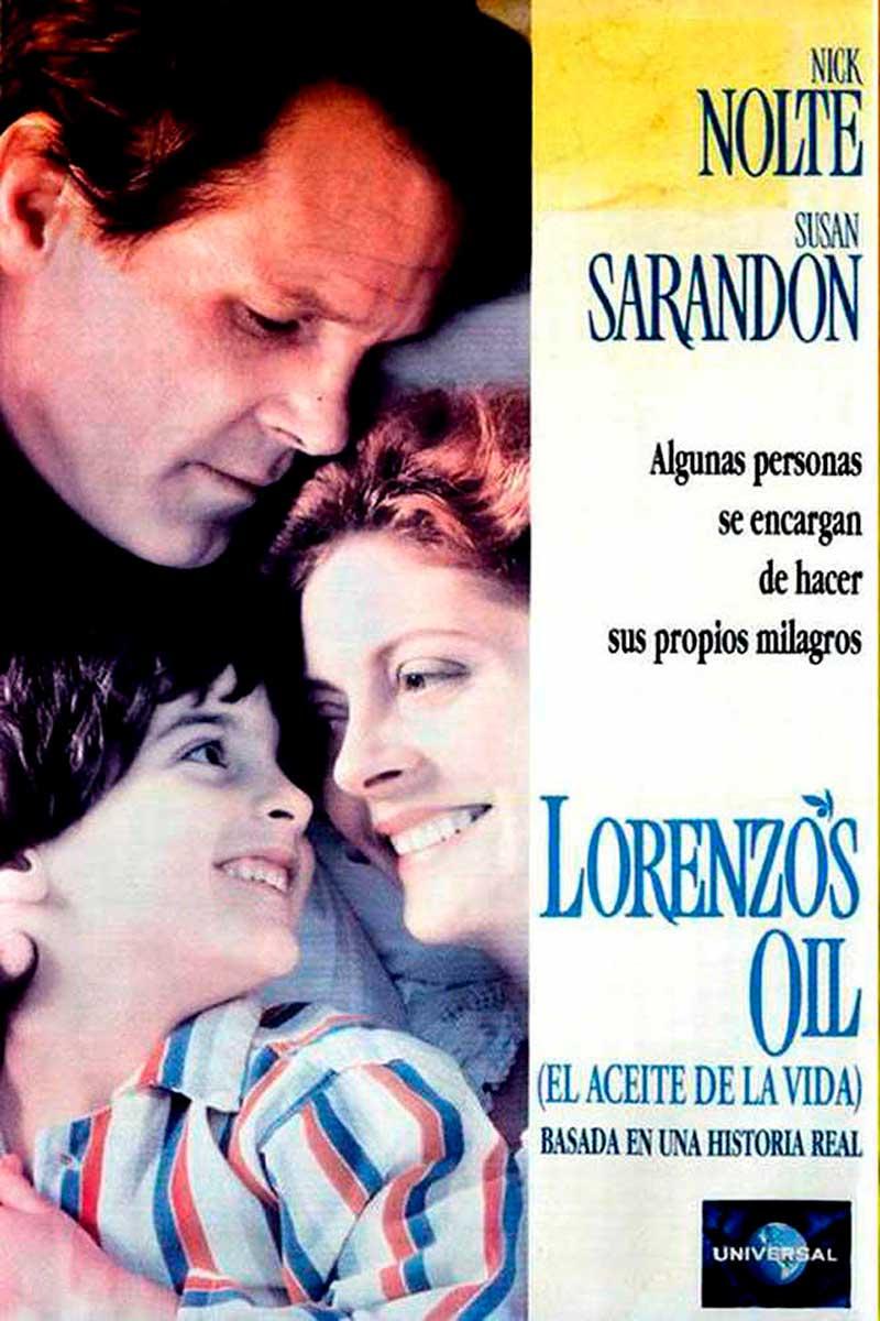 cartel El aceite de la vida