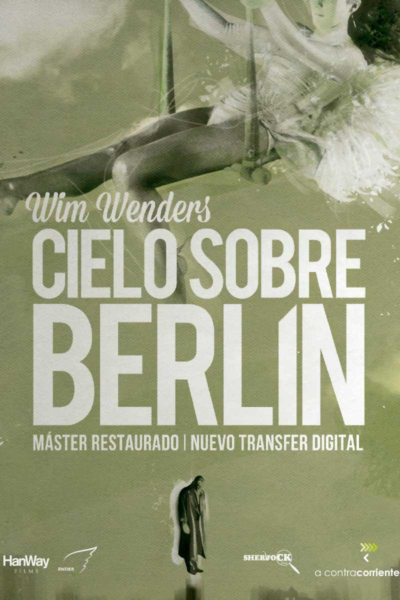 cartel Cielo sobre Berlín