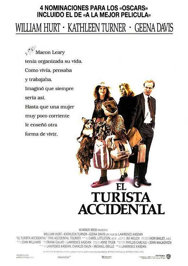 cartel El turista accidental