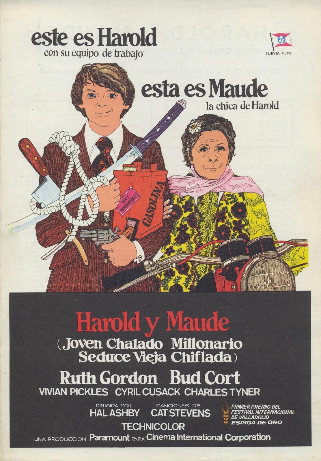 cartel Harold y Maude