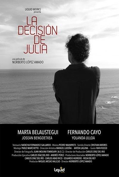 cartel la decision de julia
