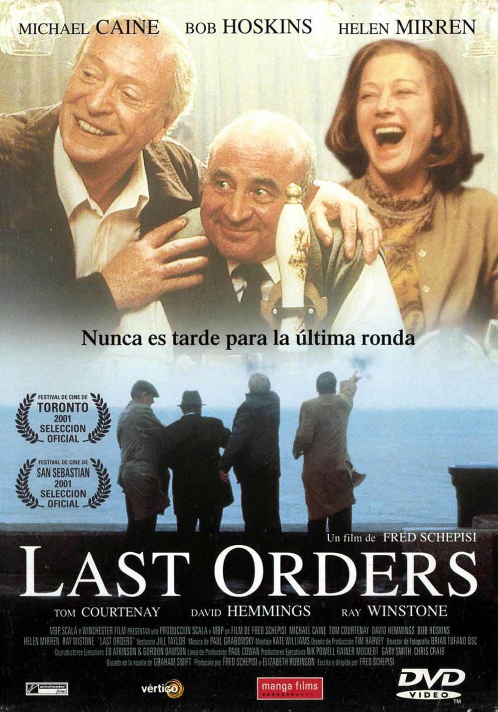cartel Las últimas órdenes
