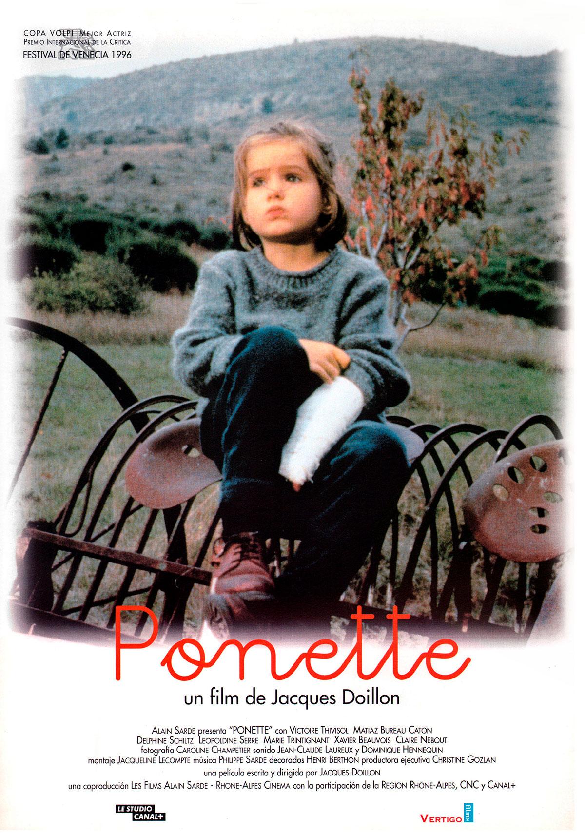 cartel Ponette