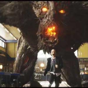 Un monstruo viene a verme, escena
