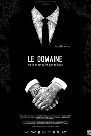 cartel de Le Domaine où la mort n'est pas taboue