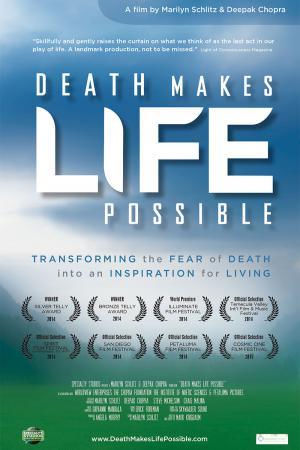 cartel La muerte hace posible la vida