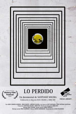 cartel Lo perdido