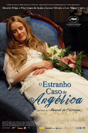 cartel El extraño caso de Angélica
