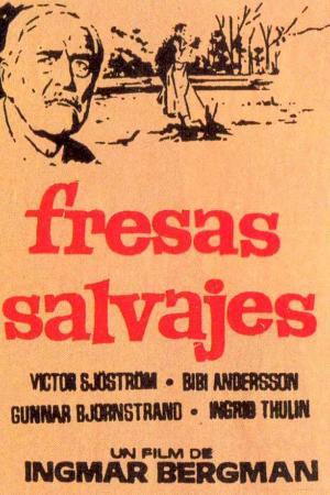 cartel Fresas salvajes