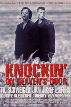 cartel Llamando a las puertas del cielo