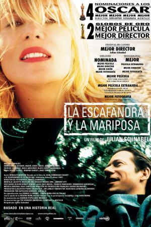 cartel La escafandra y la mariposa
