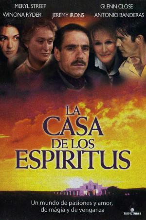 cartel La casa de los espíritus