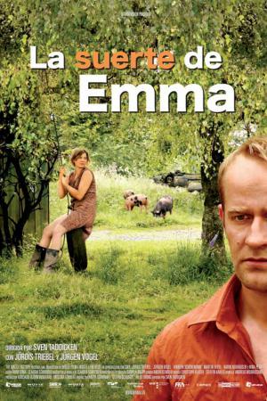 cartel La suerte de Emma