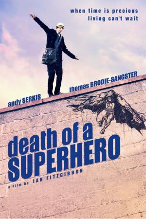 cartel Muerte de un superheroe