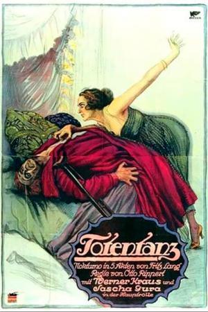 cartel original de La danza de la muerte